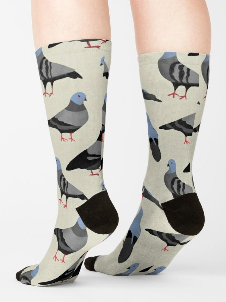 Alternate view of Design 33 - The Pigeons Socks