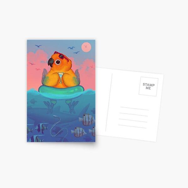 Summer Sun Conure Postcard