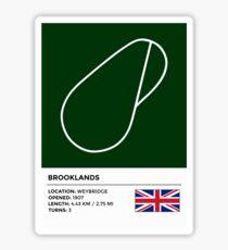 Brooklands Sticker
