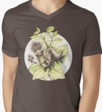 Peace, Love, and Flowers! V-Neck T-Shirt