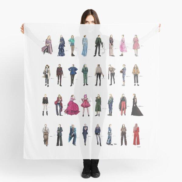 Tuer Eve Villanelle la mode ressemble à la version 3.1 Foulard