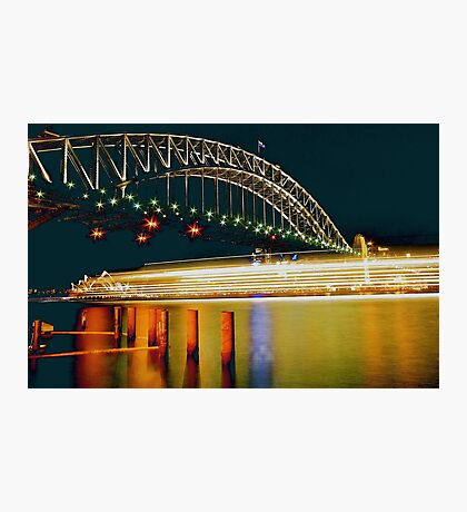 LONGEXPOSURE-LIGHTS Photographic Print
