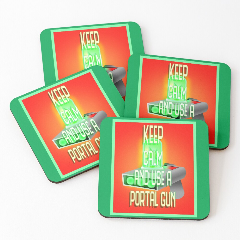 Keep Calm Coasters (Set of 4)