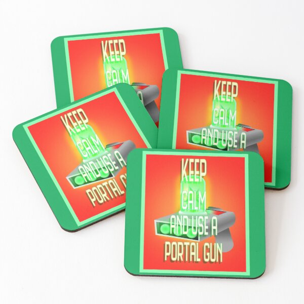 Keep Calm Coasters (Set of 4)