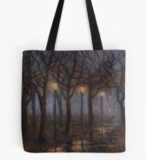 Stained Glass of Rain Tote Bag