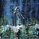 Snows at Night Timmins by eoconnor
