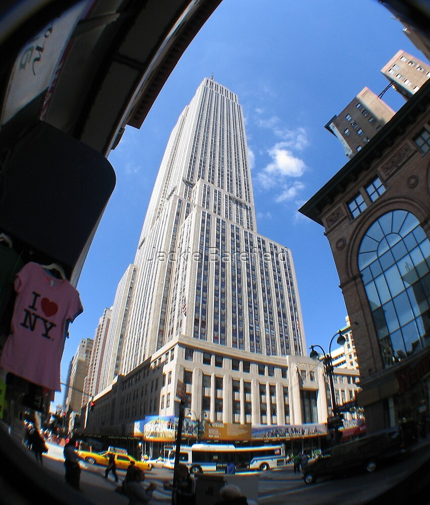 Fisheye View of Empire State by Jackie Barefield