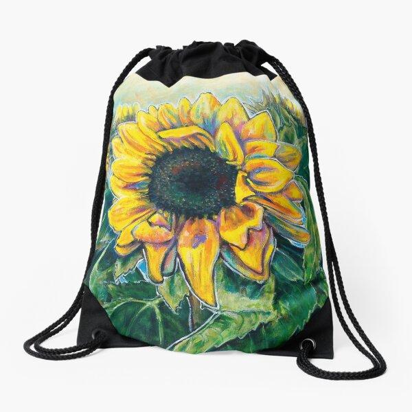 Jen's Sunflowers 2019 Drawstring Bag