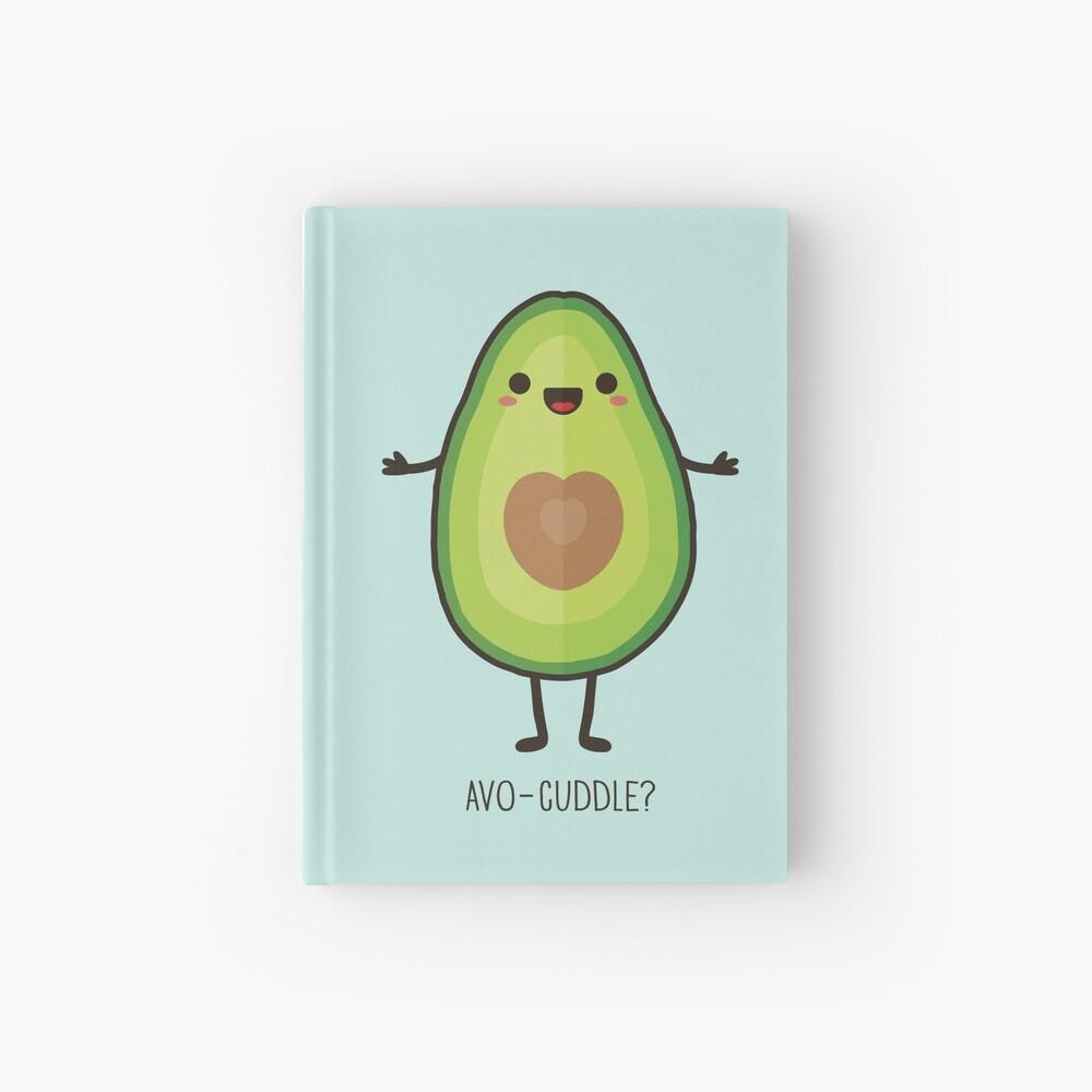 Avo-cuddle? Hardcover Journal