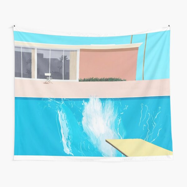 A Bigger Splash Tapestry