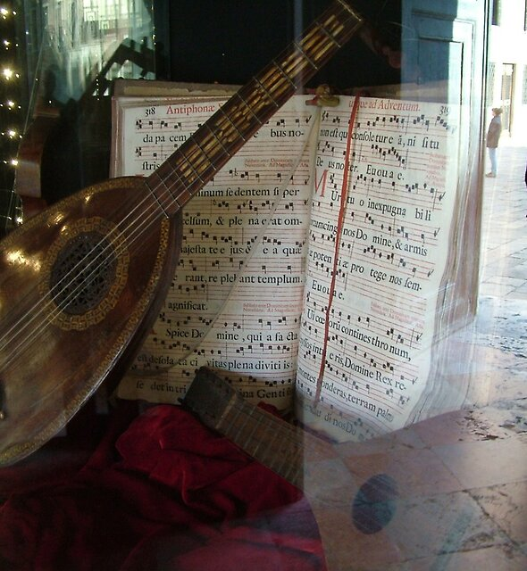 Ancient Lute, Venice by Blake Steele