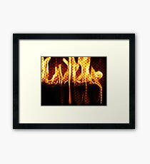 Home and Hearth Framed Print