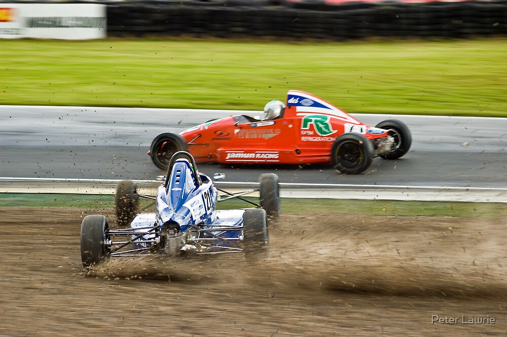 I think I'm in the wrong sport !! by Peter Lawrie
