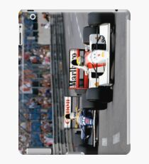 Ayrton Senna vs Nigel Mansell at Monaco '92 - Phone cases iPad Case/Skin