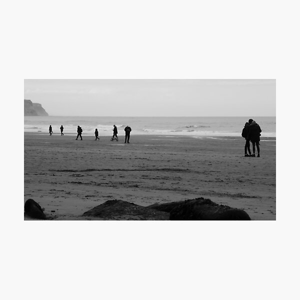 Autumn Beach Photographic Print