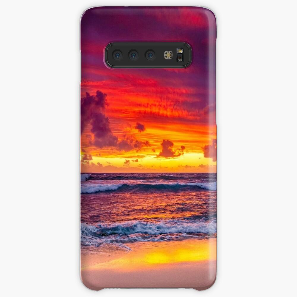 North Beach Panoramic Case & Skin for Samsung Galaxy