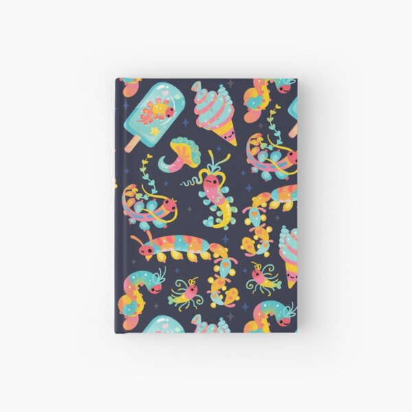 Jelly Polychaete worm Hardcover Journal