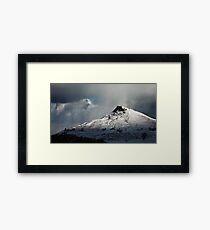 Roseberry Topping (Winter) Framed Print