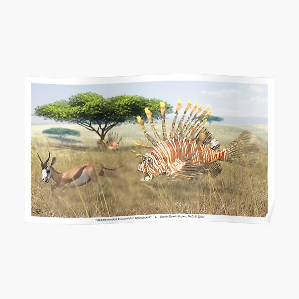 Ocean Invasion #9: Lionfish 1, Springbok 0 Poster