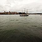 Sydney Sailboat by johnnabrynn
