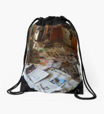 clutter Drawstring Bag