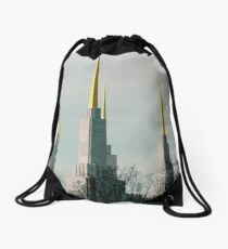 Triple Spires  ^ Drawstring Bag