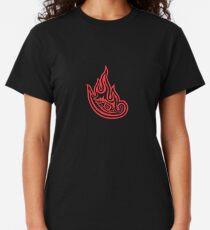 Tool Band Clean Logo. Red on black tool logo Classic T-Shirt