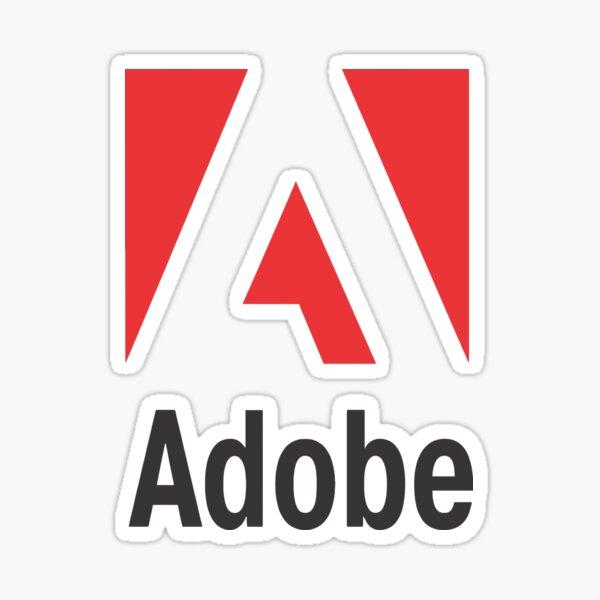 adobe merch Sticker