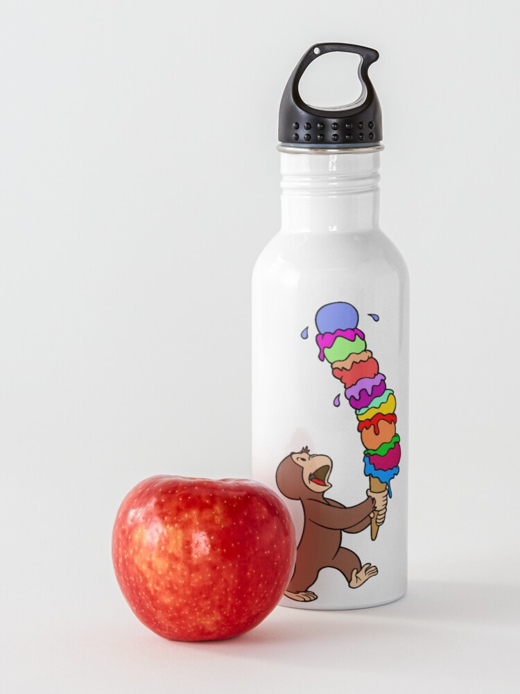 Alternate view of Curious George Has An Ice Cream Treat Water Bottle