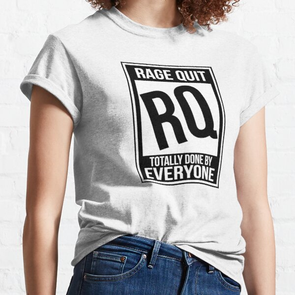 Rated RQ (Rage Quit) Classic T-Shirt