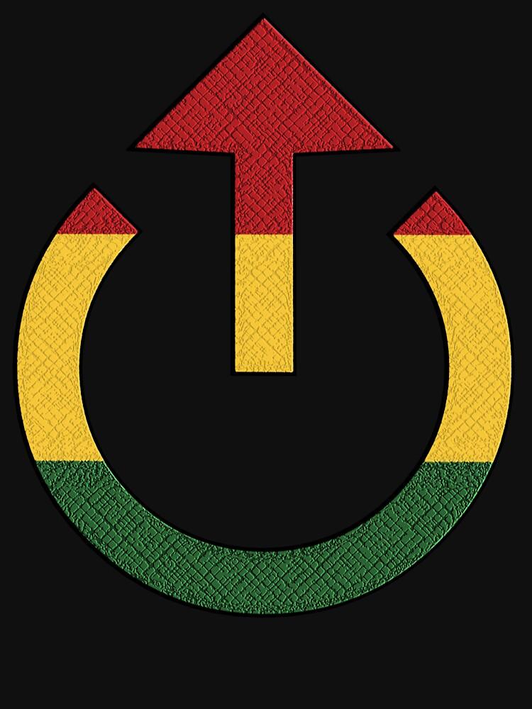 Loud Reggae Music Symbol Unisex T Shirt By Matanga Redbubble