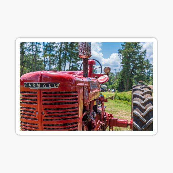 IHC circuitería tractor pegatinas