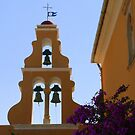 Church Bells at Theotokou Monastery by Laurel Talabere