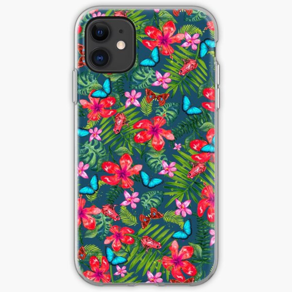 Bohemian Tropical - Dark iPhone Soft Case