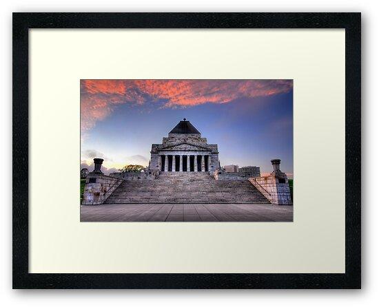 Shrine of Remembrance by Alex Stojan