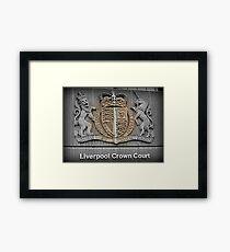 Crown Court Framed Print
