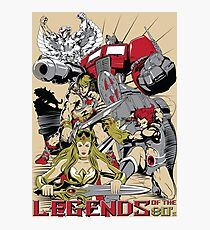 LEGENDS OF THE 80´S Photographic Print