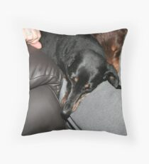 We love to cuddle Throw Pillow