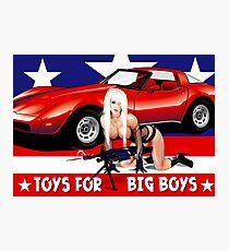 Toys For Big Boys Photographic Print
