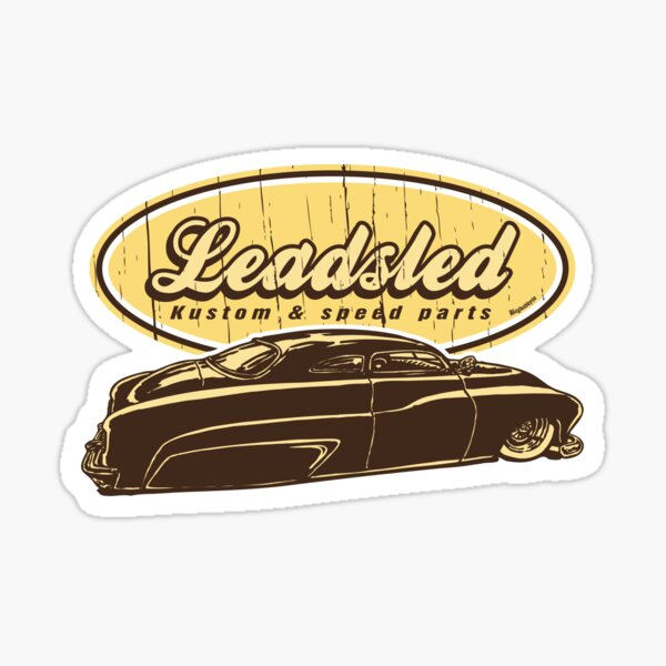 Big Leadsled Sticker