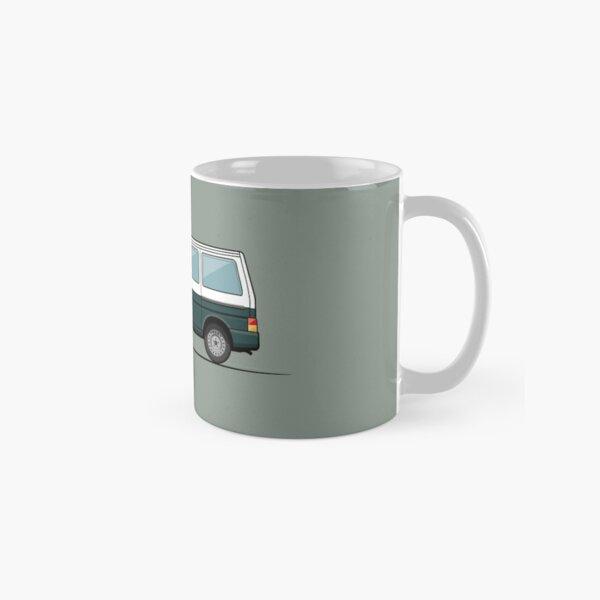 T4 bus - white / green Classic Mug