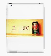 I Like Ginger Ale iPad Case/Skin