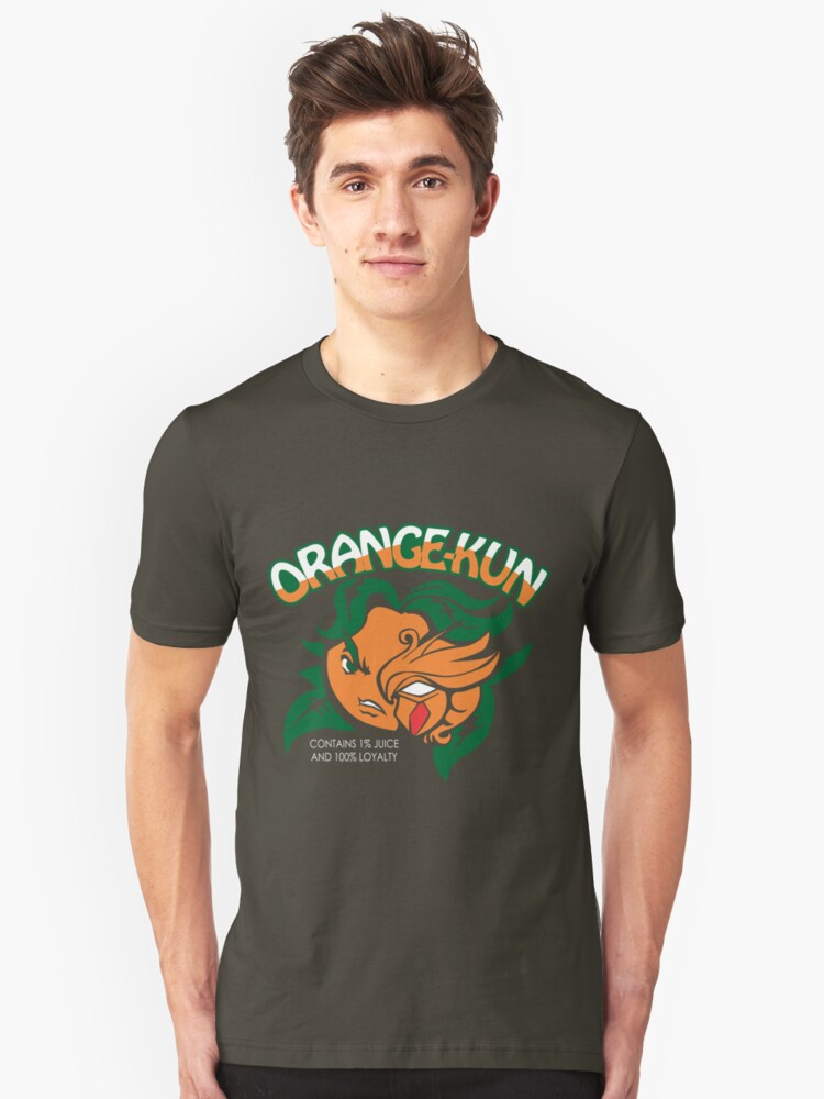 Orange-Kun Unisex T-Shirt Front
