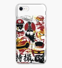 Tokusatsu Assemble 3 colors iPhone Case/Skin