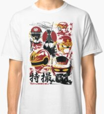 Tokusatsu Assemble 3 colors Classic T-Shirt
