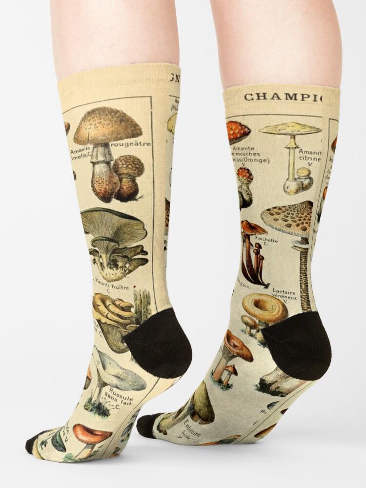 Alternate view of Mushrooms Socks