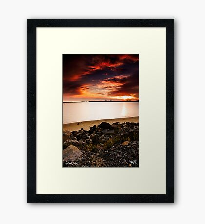 Leschenault Estuary Framed Print