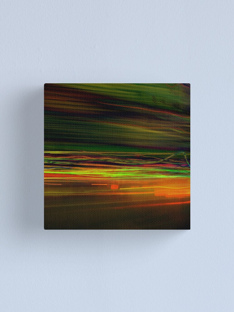 Alternate view of Fast Stripes Canvas Print