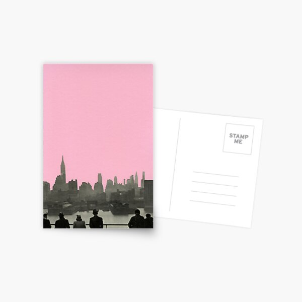 New York Nights Postcard