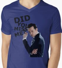 Did you miss me? Mens V-Neck T-Shirt